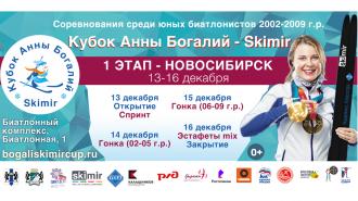 Новосибирск ждет! Статистика этапа