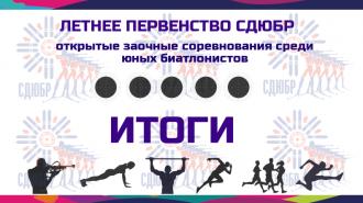 Итоги Летнего Первенства СДЮБР